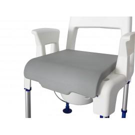 Coussin confort pour chaise percée Aquatec Pico