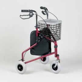 Rollator 3 roues Classic Homecraft rouge Performance Health